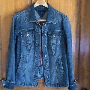 Vintage Tommy Hilfiger Denim Jacket Size Large